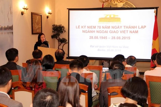 Diplomatic sector's birthday marked abroad hinh anh 1