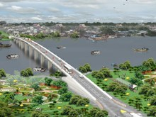 Construction begins on bridge on key border road hinh anh 1