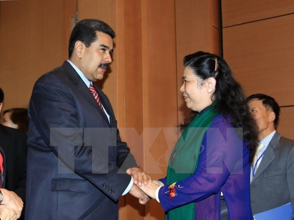 NA Vice Chairwoman welcomes Venezuelan President hinh anh 1