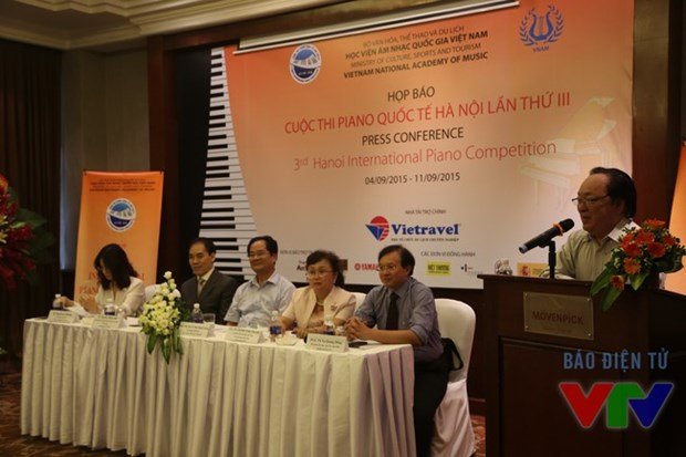 Hanoi to host 3rd international piano competition hinh anh 1