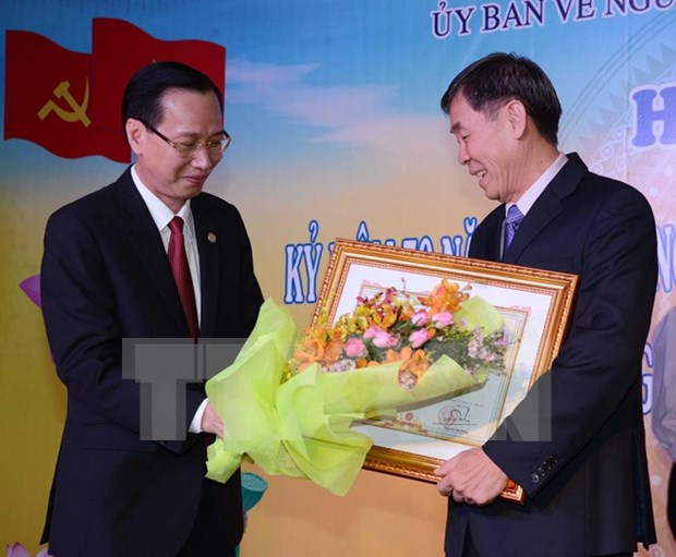Overseas Vietnamese gather in HCM City to mark National Day hinh anh 1