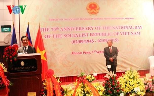 Cambodia admires Vietnam's development hinh anh 1