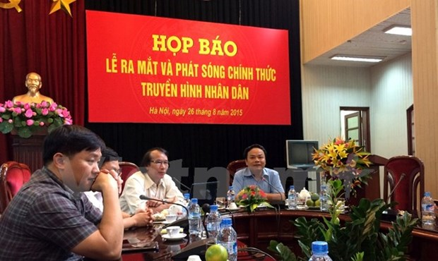 Nhan Dan television channel inaugurated hinh anh 1