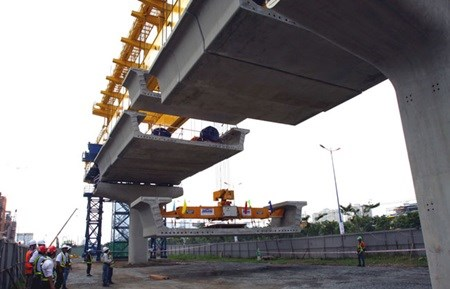 HCM City metro on schedule hinh anh 1