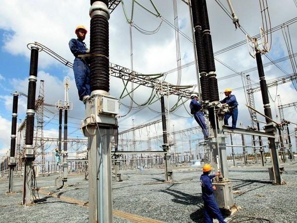 Construction of Long Phu 1 thermo-power plant in progress hinh anh 1