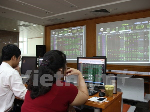 Vietnamese shares mixed ahead of Fed hinh anh 1