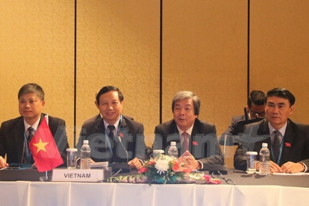 AIPA committees appraise critical regional issues hinh anh 1