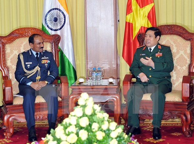 India Air Force Chief visits Vietnam to boost ties hinh anh 1