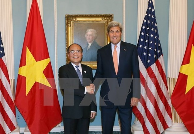 NA Chairman's US visit opens up new prospects hinh anh 1
