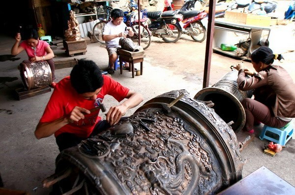 Vietnamese fine arts reforms amid integration hinh anh 1