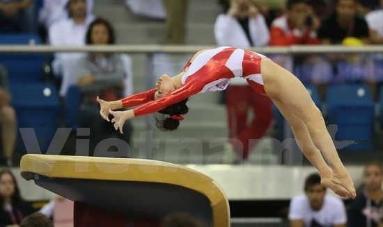 Vietnamese gymnasts return empty-handed hinh anh 1