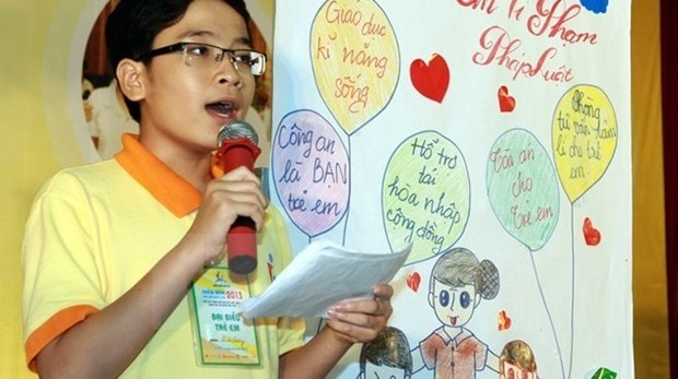 Fourth National Children's Forum opens in Hanoi hinh anh 1