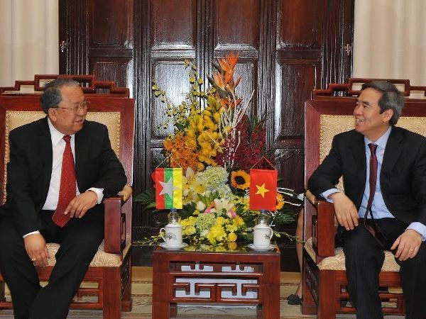 Vietnam, Myanmar central banks increase cooperation hinh anh 1