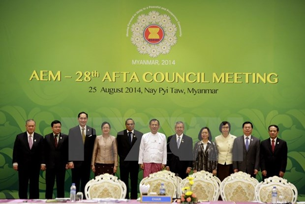 47th ASEAN Economic Ministers' Meeting to finalise AEC formation hinh anh 1
