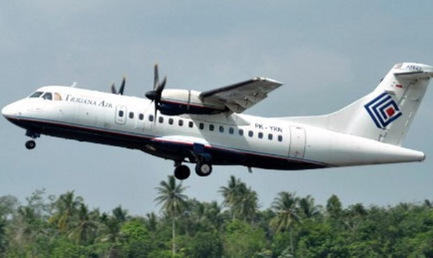 Indonesian airplane crashes into mountain hinh anh 1