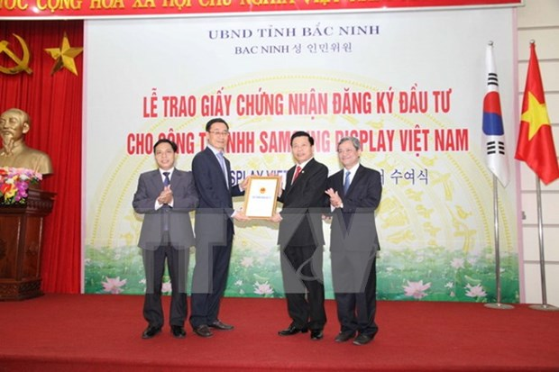 Bac Ninh industrial park welcomes high FDI inflow hinh anh 1