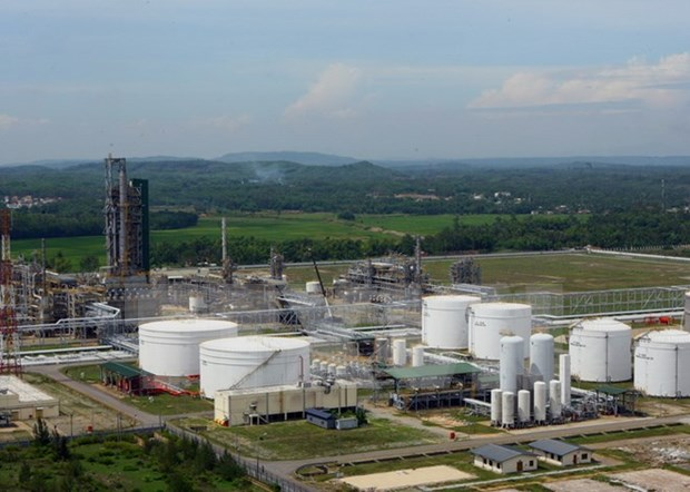 UK firm makes master design for Dung Quat oil refinery's expansion hinh anh 1