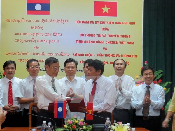 Vietnamese, Lao localities bolster communications links hinh anh 1