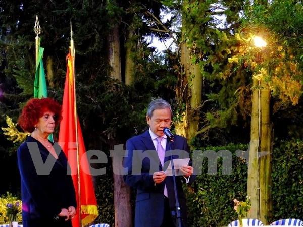 Vietnam, Italy bolster bilateral ties hinh anh 1