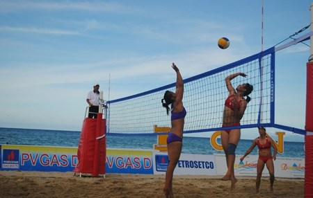 Thousands prepare for Beach Games hinh anh 1