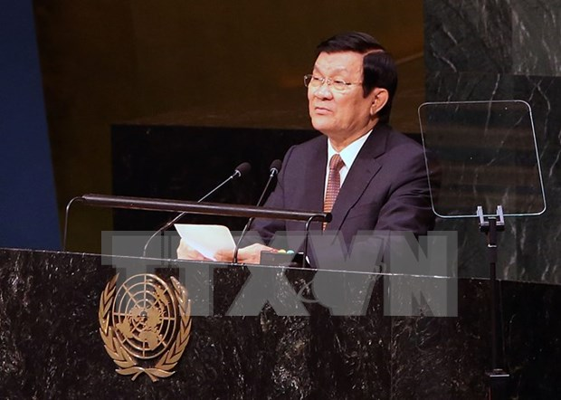 President: Vietnam commits to successfully implementing SDGs hinh anh 1