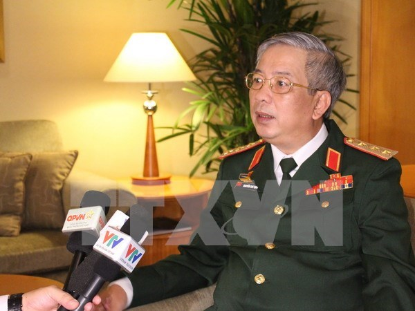 Vietnam, US hold fifth defence policy dialogue hinh anh 1
