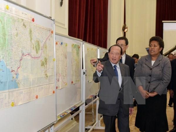 Cambodia makes demarcating map public hinh anh 1