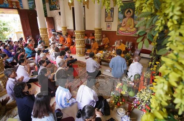 An Giang: Officials congratulate Khmer people on Sene Dolta festival hinh anh 1