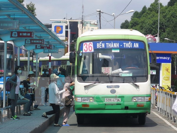 HCM City: Friendly bus service campaign launched hinh anh 1