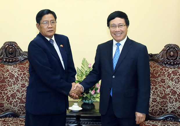 Deputy PM welcomes Myanmar anti-corruption official hinh anh 1
