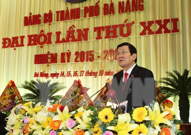 Da Nang asked to focus on Party building hinh anh 1