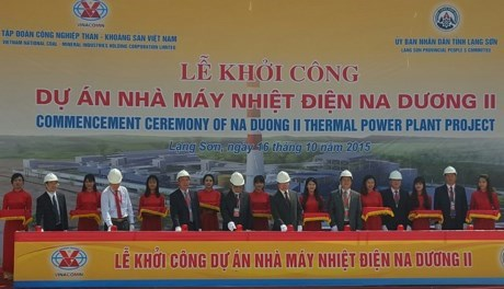 Work starts on 192-million-USD thermal power plant in Lang Son hinh anh 1