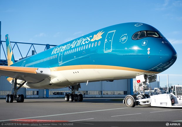 Vietnam Airlines starts using Airbus A350 on Hanoi-Seoul route hinh anh 1