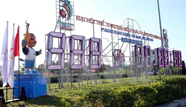 Vietnam pushes forward preparation for Asian Beach Games hinh anh 1