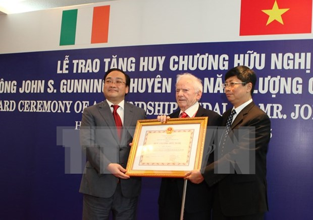 Ireland's energy expert receives Friendship Medal hinh anh 1