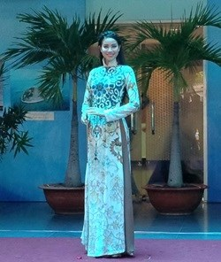 Traditional Vietnamese, Indian clothing graces catwalk hinh anh 1