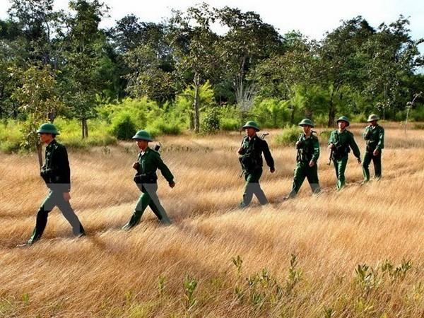 Vietnam, Cambodia hold first defence policy dialogue hinh anh 1