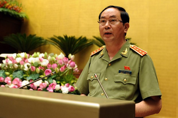 Vietnamese, Chinese security ministers hold talks hinh anh 1