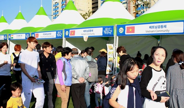 Vietnam attends Global Gathering Festival in Busan hinh anh 1