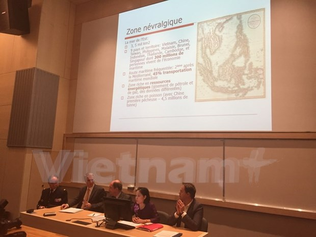 East Sea issue draws French scholars' attention hinh anh 1