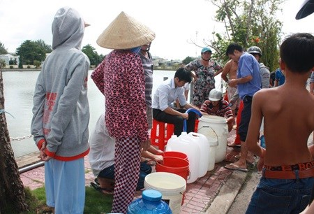 Mekong Delta faces acute fresh water shortage hinh anh 1
