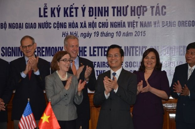 Foreign ministry welcomes Vietnam-Oregon cooperation initiative hinh anh 1