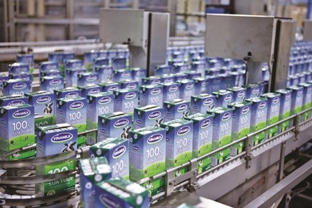 Vinamilk leads local share gains hinh anh 1
