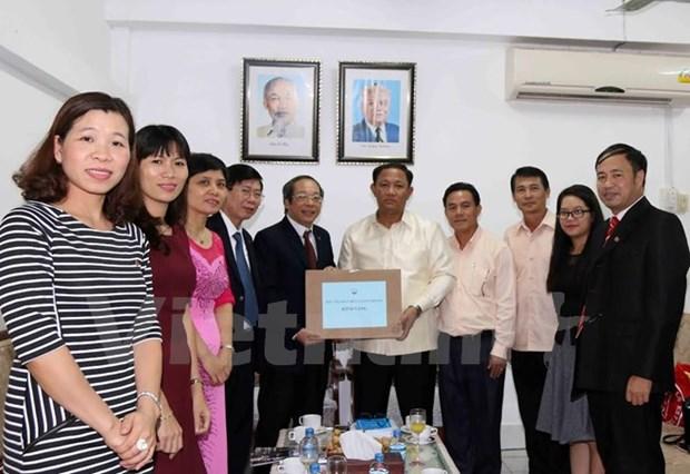Vietnam, Laos boost press cooperation hinh anh 1