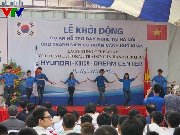 Hanoi disadvantaged youth provided with vocational courses hinh anh 1