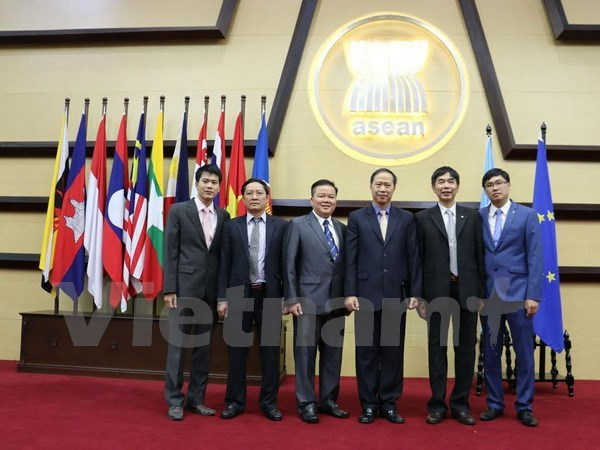 ASEAN, EU boost co-operation on migration, border management hinh anh 1