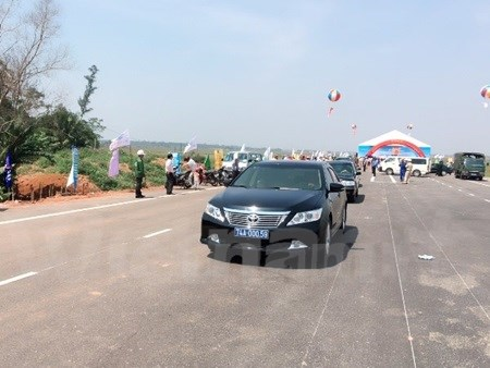 Highway No 1 opens in Quang Tri hinh anh 1