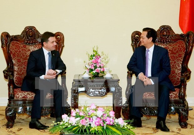 Prime Minister greets Moscow Oblast Mayor hinh anh 1