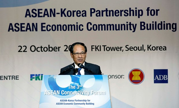ASEAN, RoK convene connectivity forum hinh anh 1