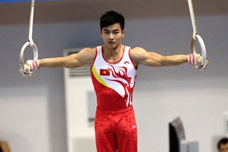 Vietnamese gymnasts to compete for ticket to Rio hinh anh 1